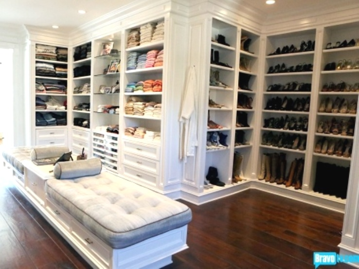 Inside The Newest Bh Housewife Yolanda's Ginormous Walk In Closet