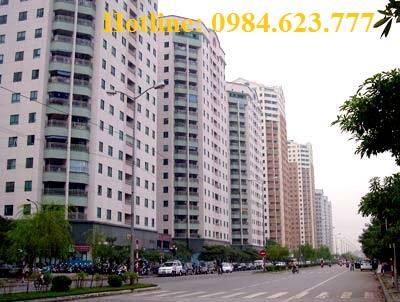 Cho Thuê căn hộ chung cư 17t1 Hoàng Đạo Thúy