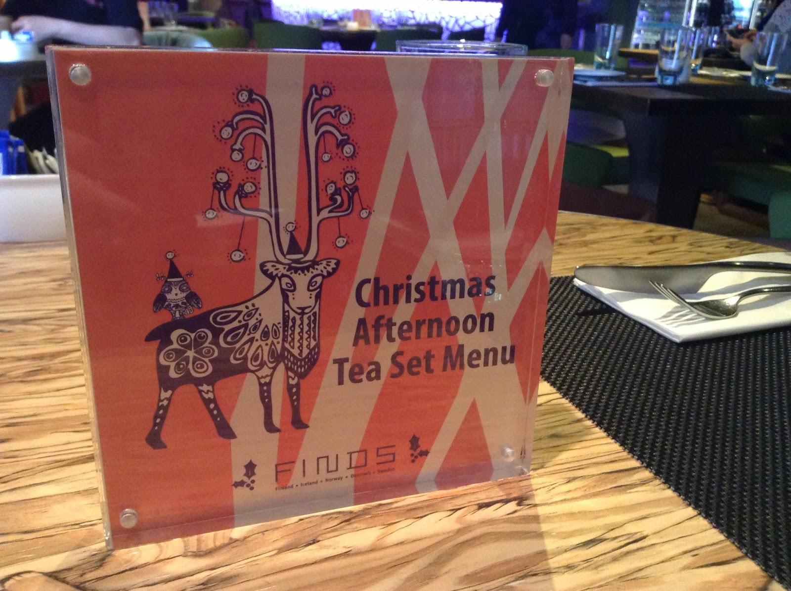 【Afternoon Tea分享】異常北歐甜點*聖誕老人家鄉下午茶@FINDSRestaurant & Bar