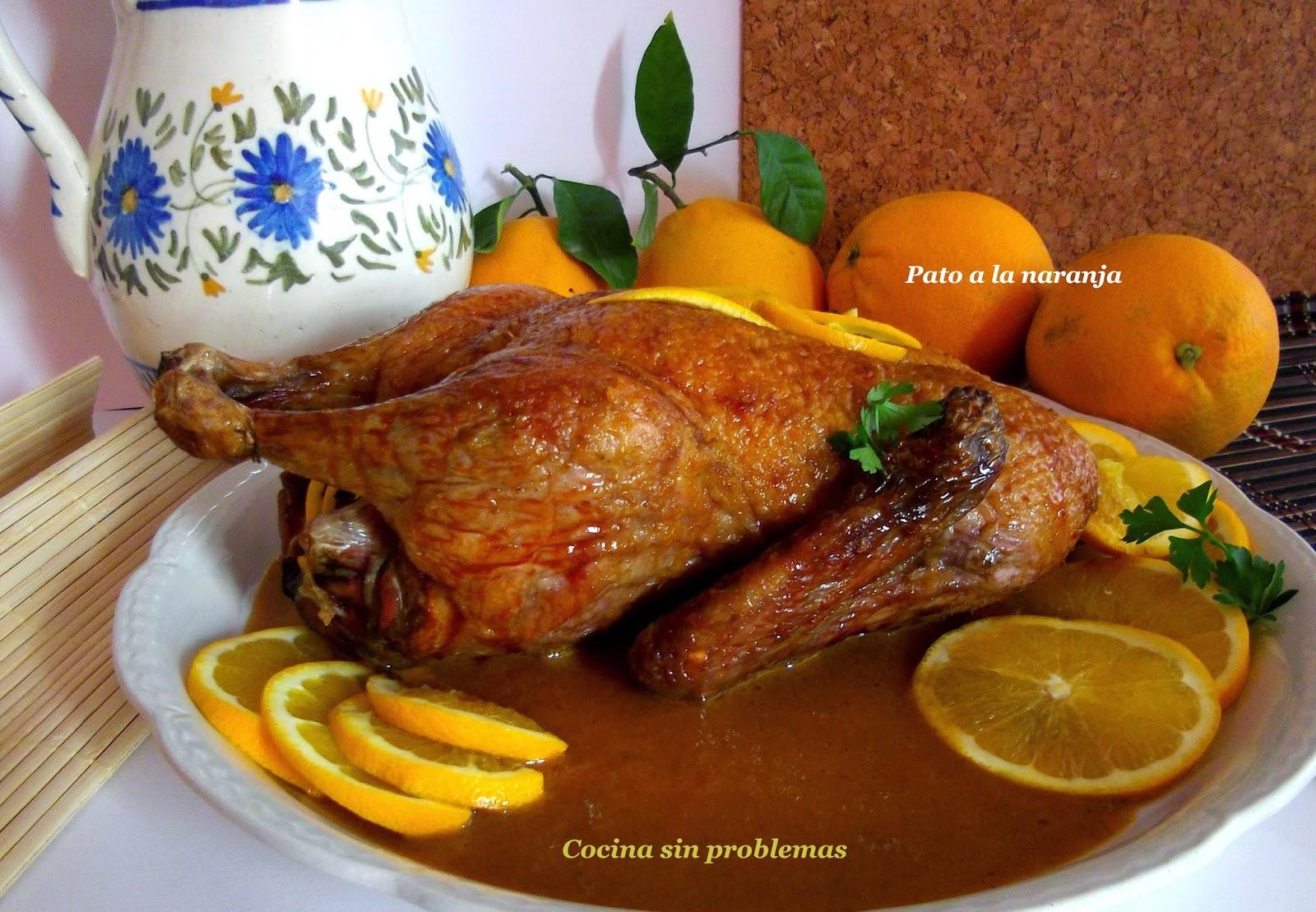 Pato al horno cocinar en casa es for Pato a la naranja al horno