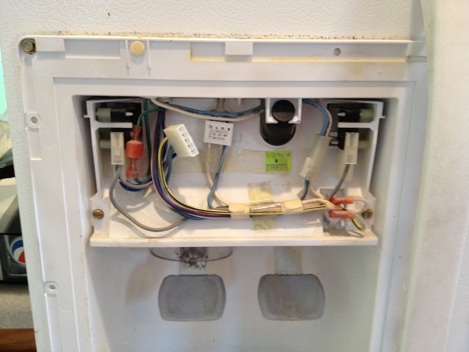 How To Remove The Control Panel Bezel On A Kenmore Coldspot Model  59282990