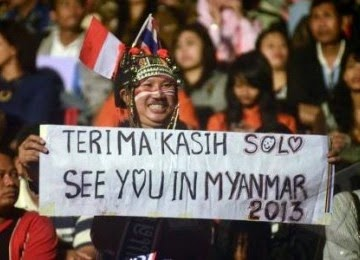 thanks for fans thailand in indonesia