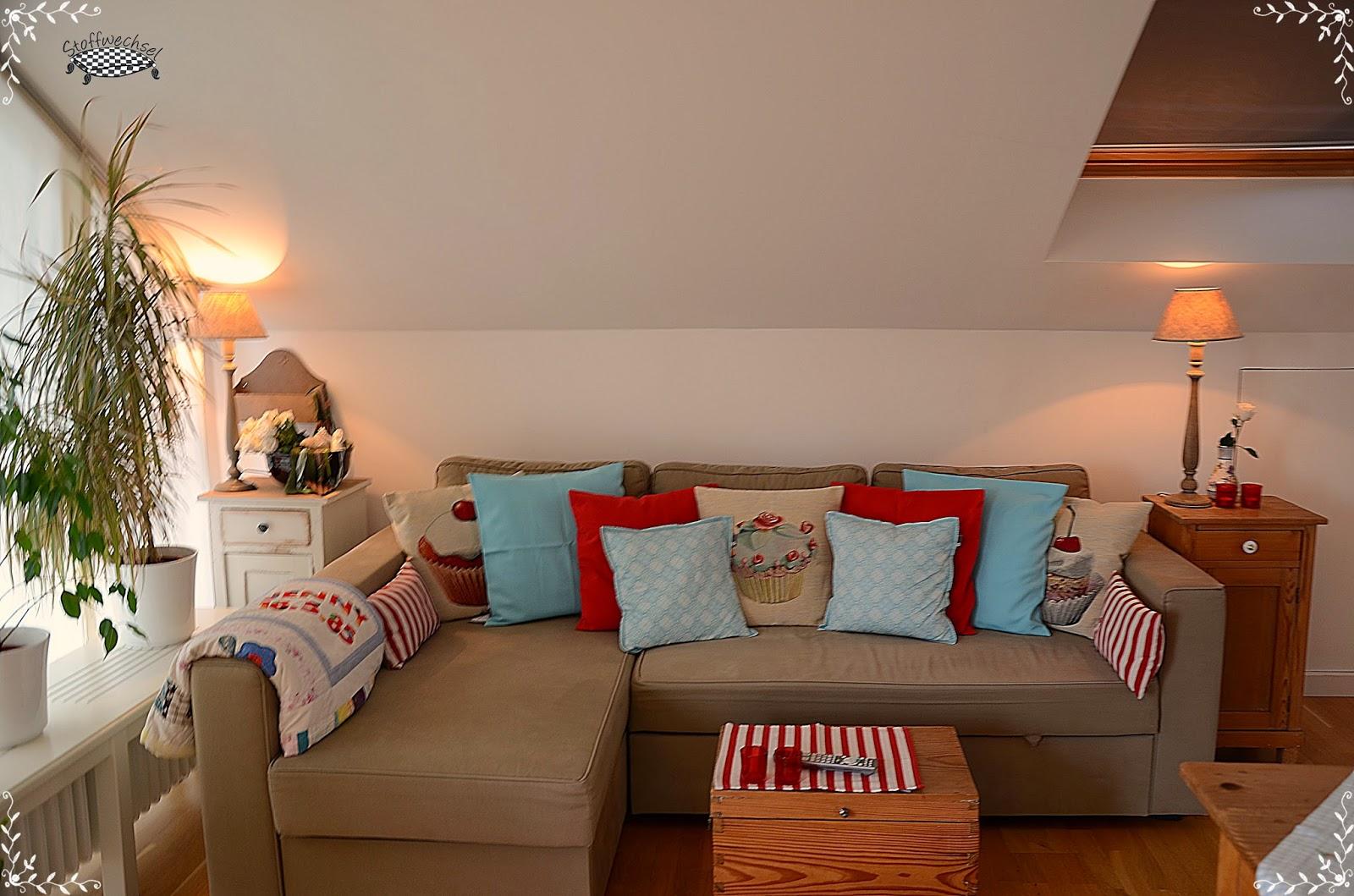 Stoffwechsel jennifer büchler: wohnzimmer umdekoriert und ein paar ...