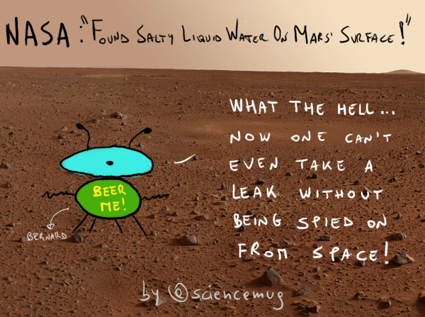 Water on Mars: the truth! (by sciencemug)