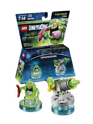 TOYS : JUGUETES - LEGO Dimensions 71241 Ghostbusters : Fun Pack Slimer + Slime Shooter Figuras - Muñecos - Videojuegos  | Edad: 7-14 | Piezas: 65 Comprar en Amazon España & buy Amazon USA