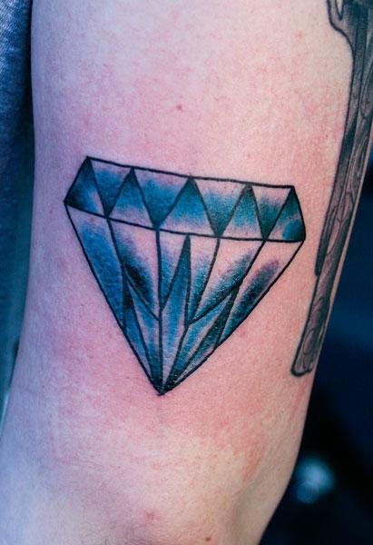 Hannikate designs of diamond tattoos meaning for Tattoos of diamonds