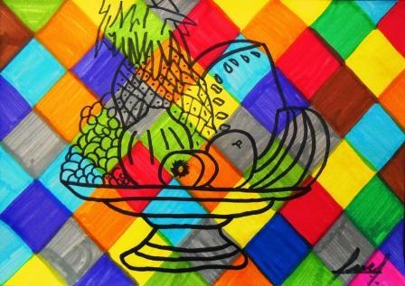 Puertas a la imaginaci n dibujo y color - Todos los colores calidos ...