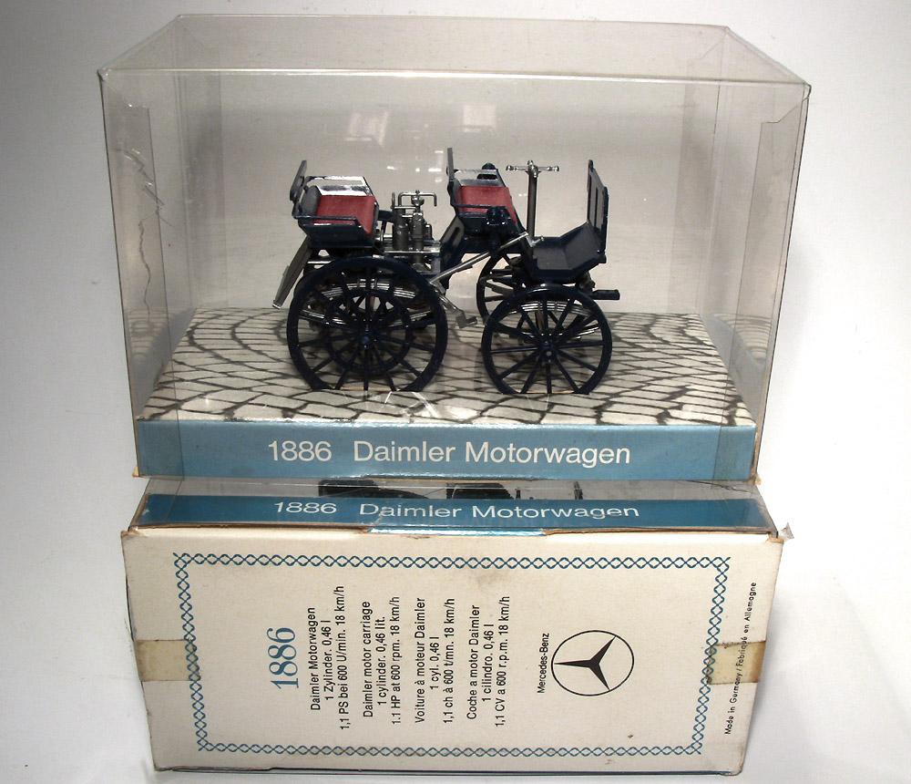 H0 Klassiker: Daimler Motorwagen 1886 (3)