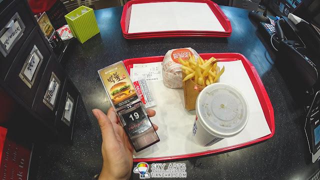 Had a nice Bulgogi Burger @ LOTTERIA Gimpo Airport