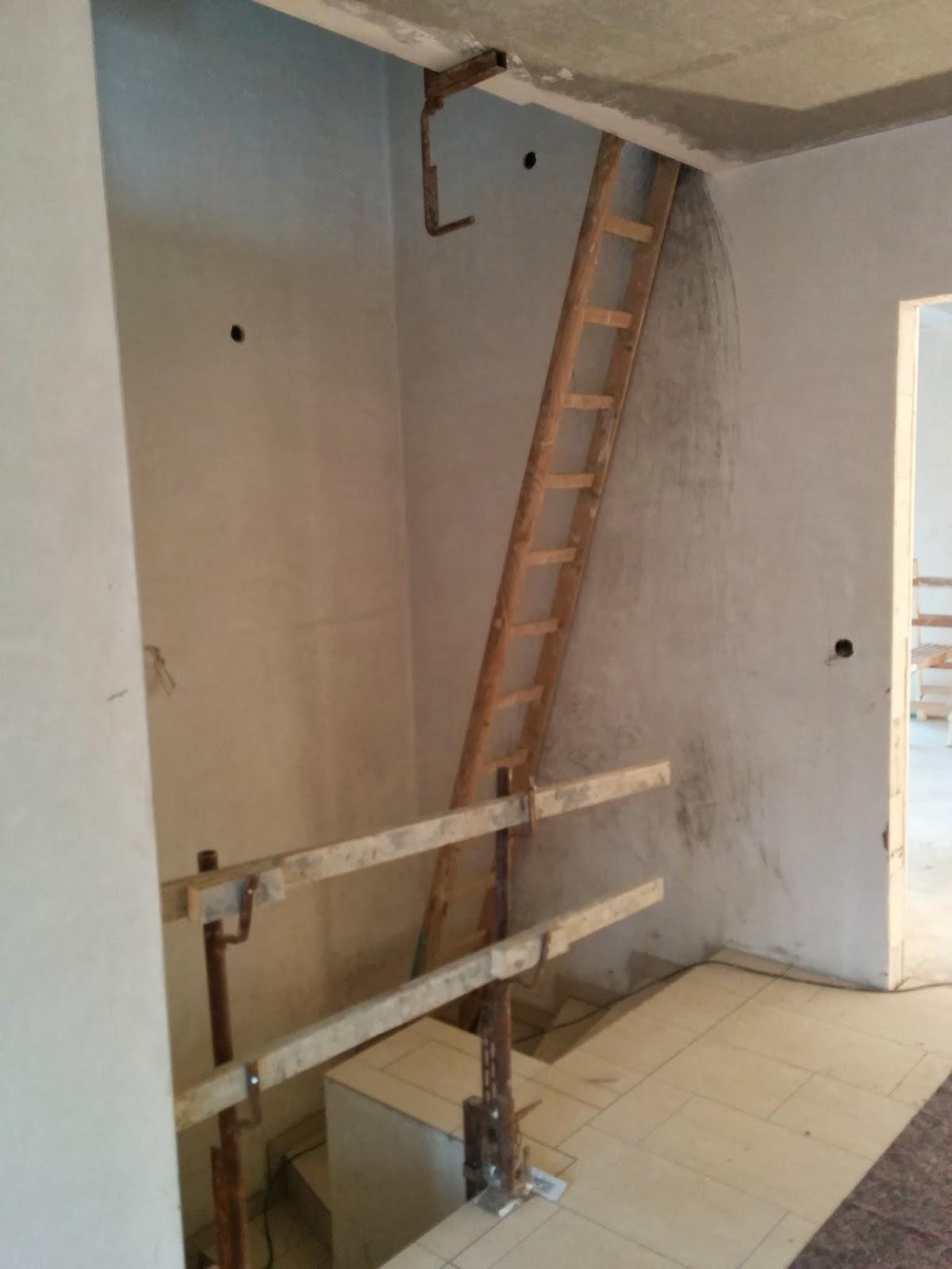 Turbo Unser Hausbau in Hamburg: Bye Bye Leiter - die Treppe kommt FA56