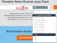 Cara Daftar Domain di Niagahoster