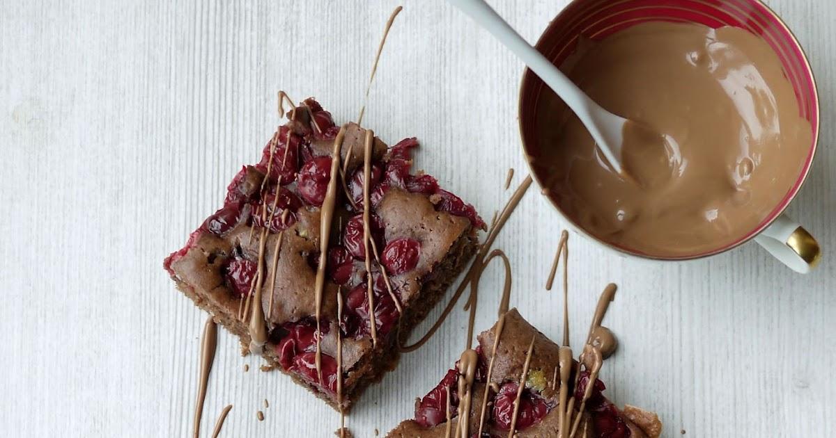 Schokoladiger schoko kirsch kuchen