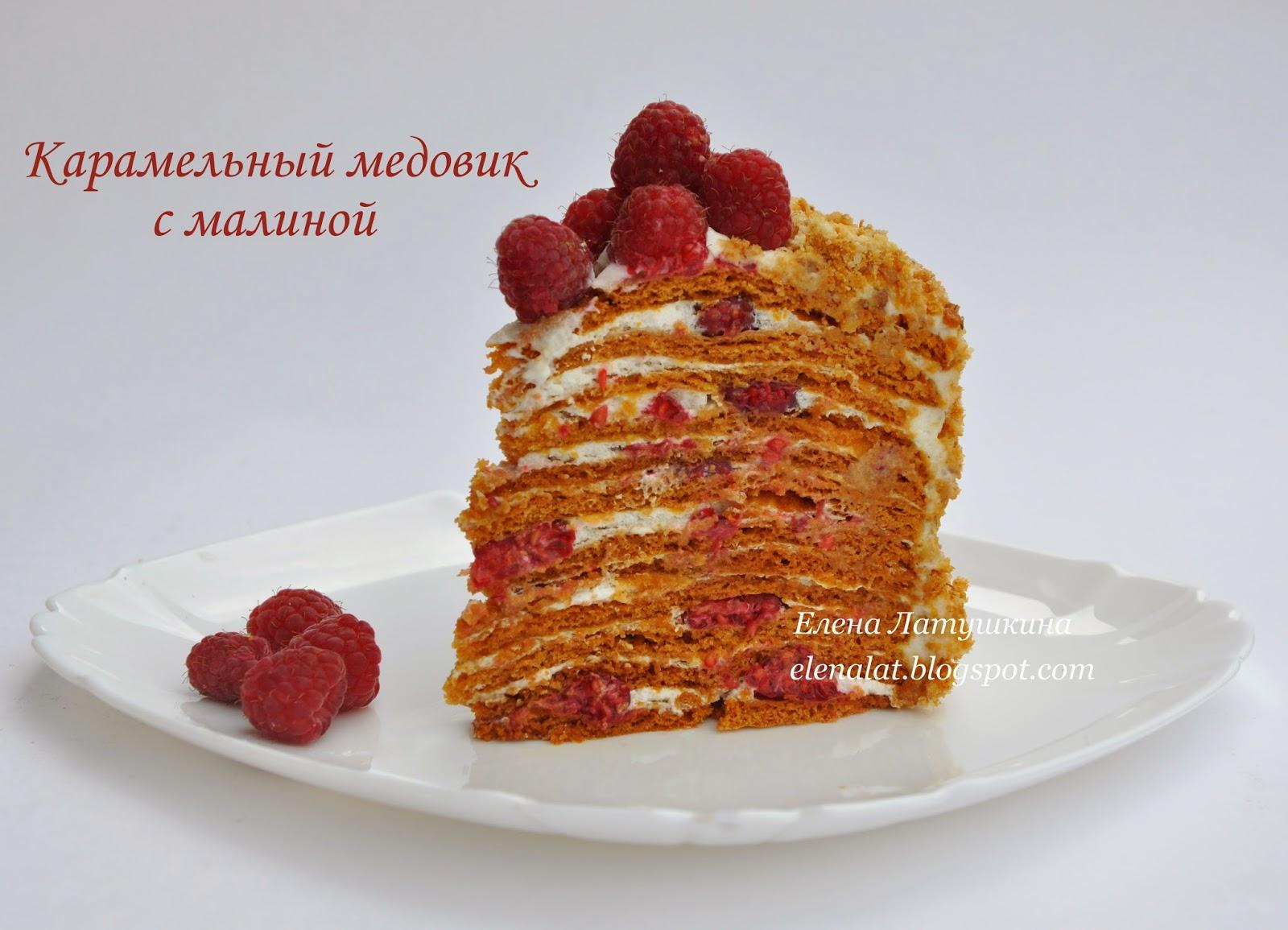 рецепт карамельного медовика с фото