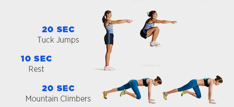 6 Mountain Climbers That Will Burn A Ridiculous Amount of Fat