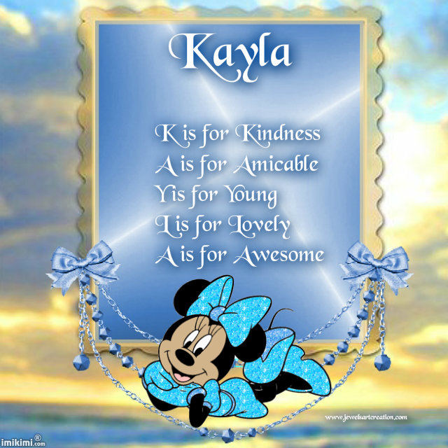 Kayla ~ Jewels Art Creation