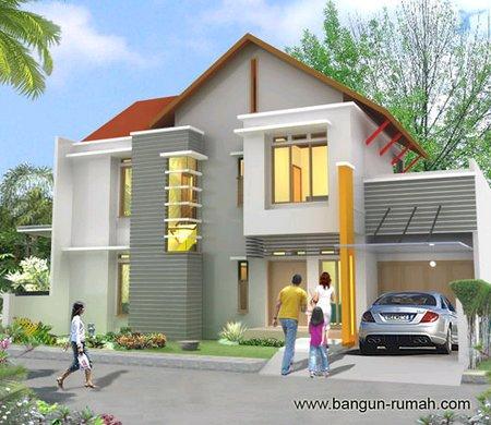 Desain rumah idaman keluarga