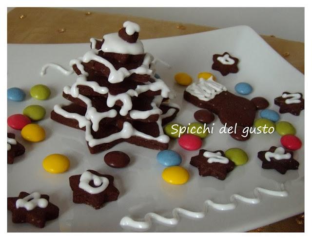 Alberello di natale speziato al cioccolato