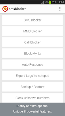 SMS Blocker - AWARD WINNER Premium Patched v6.1.6 Apk Download