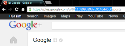 Customize Google Plus Page URL