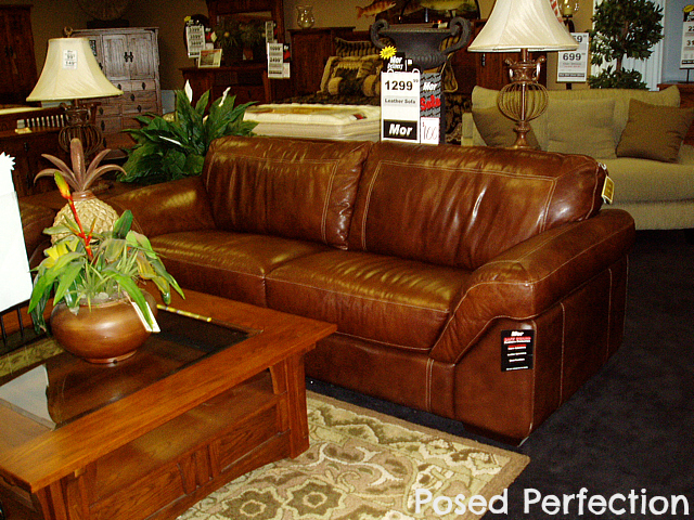Homemade Leather Furniture Conditioner #17: When We Lived In Arizona, The Cushions Sustained Some Water Damage From The Kiddos Sitting On It When They Were Wrapped Up In Their Towels After Being In ...
