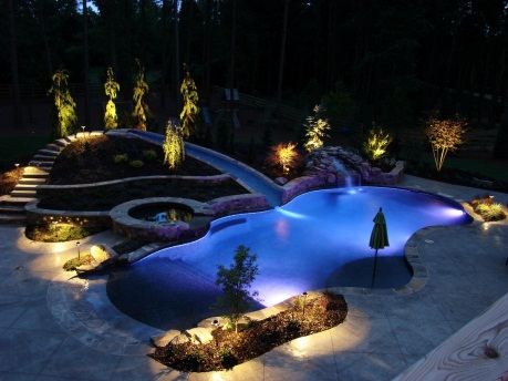NightVision Outdoor Lighting - Photos - Electricians - Canton, GA