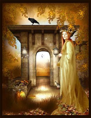 Autumns Past by Gloria Gypsy