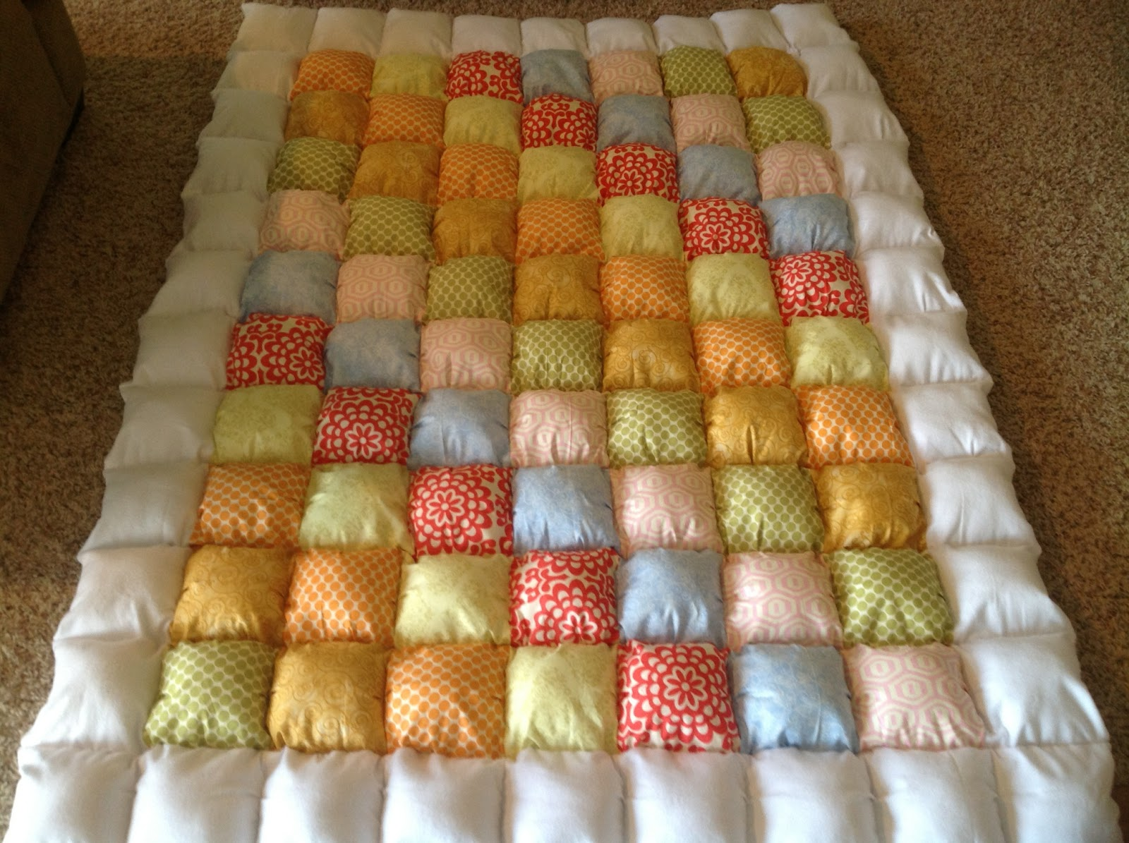 Once Upon a Childhood...: Puffy Quilts : puff rag quilt - Adamdwight.com