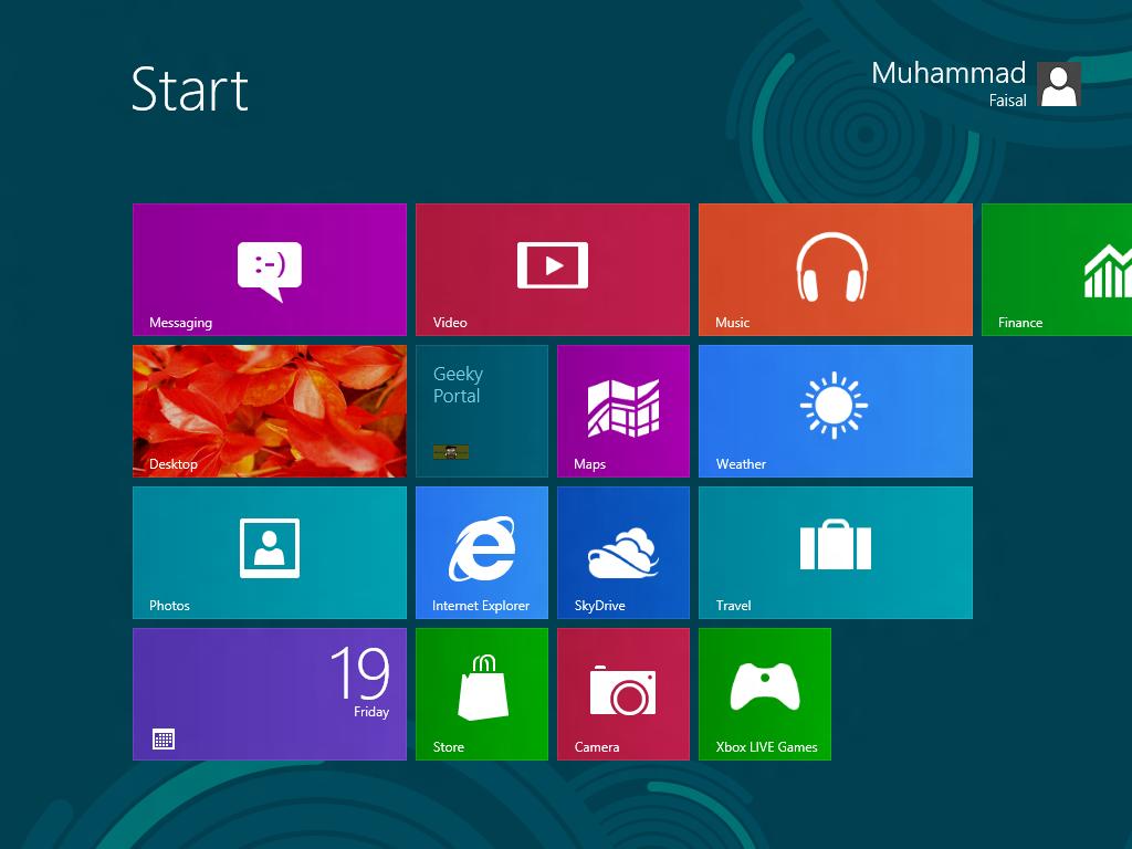 How To Add Shutdown Button To Windows 8 - Geeky Portal
