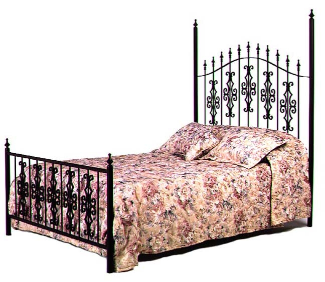 Wrought iron bed furniture designs.  An Interior Design