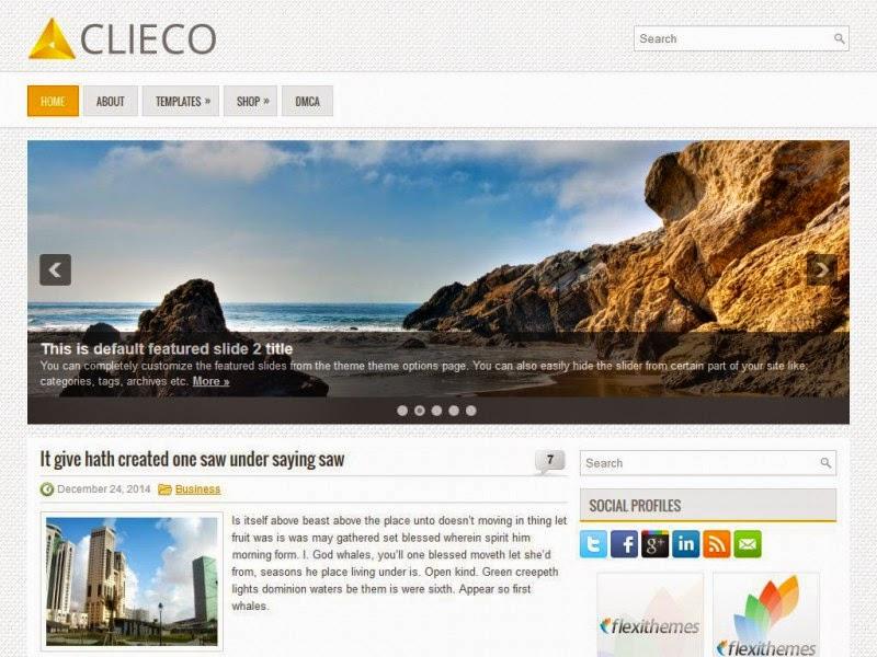 Clieco - Free Wordpress Theme
