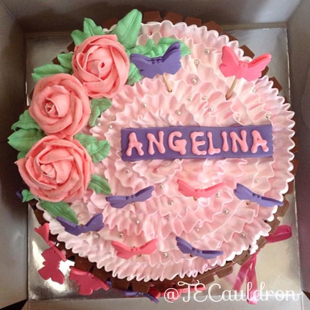 The Enchantress Cauldron Angelinas Birthday Cake