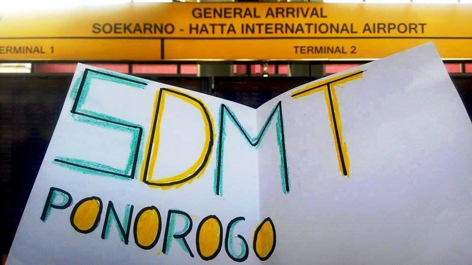 SDMT di Bandara Soekarno Hatta