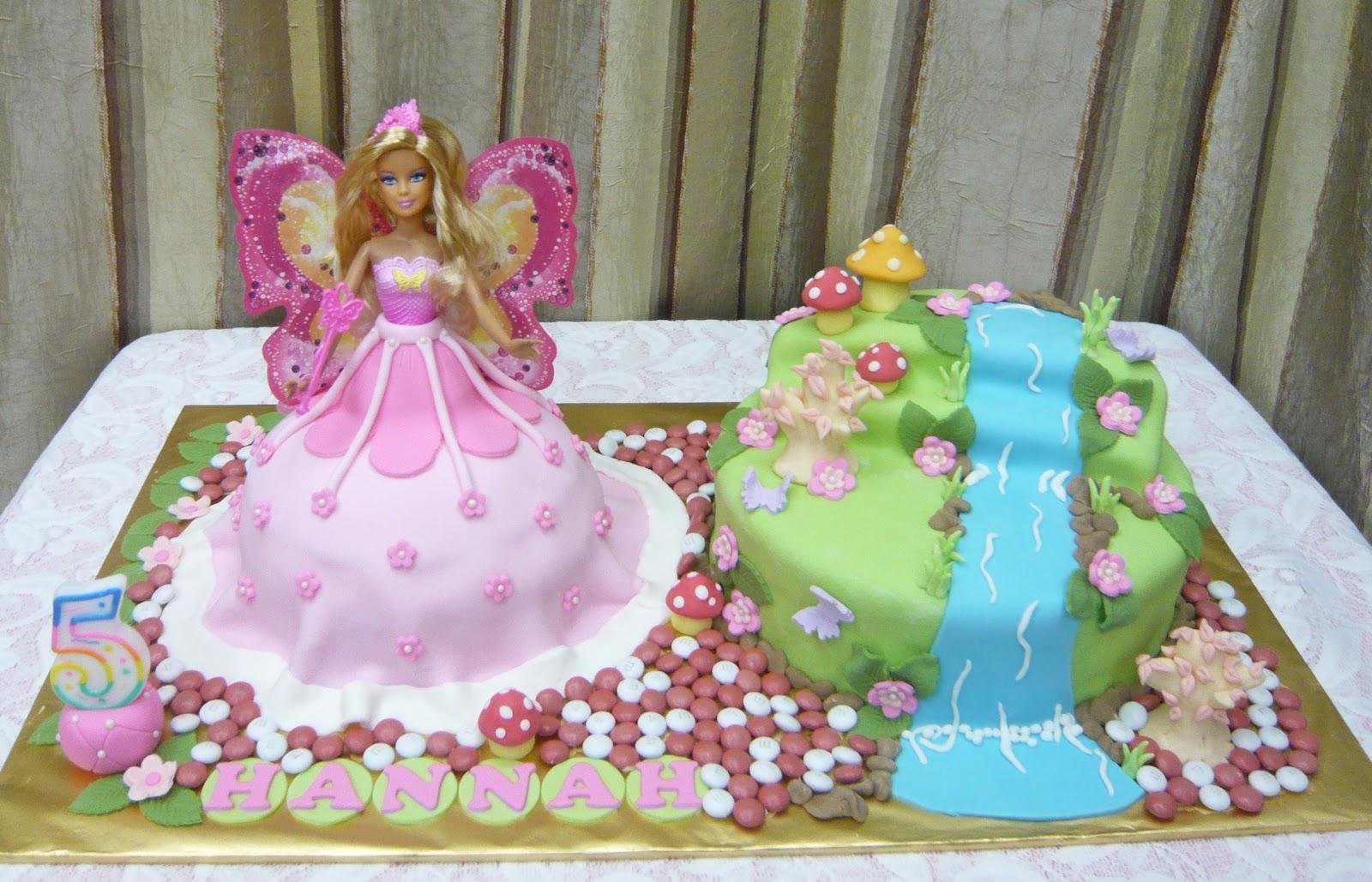 Jenn Cupcakes & Muffins: Fairy Doll Cake