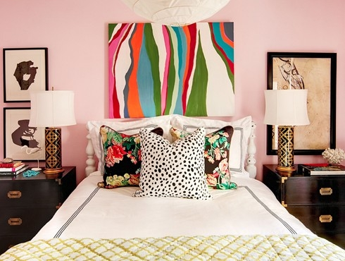 Modern Girly Decor Apartment Comfy Lunge Room