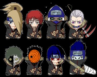 Chibi Akatsuki Gambar Naruto Wallpape...
