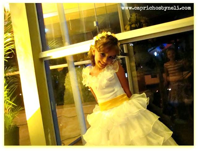 Dama de honra, noivinha, minha filha