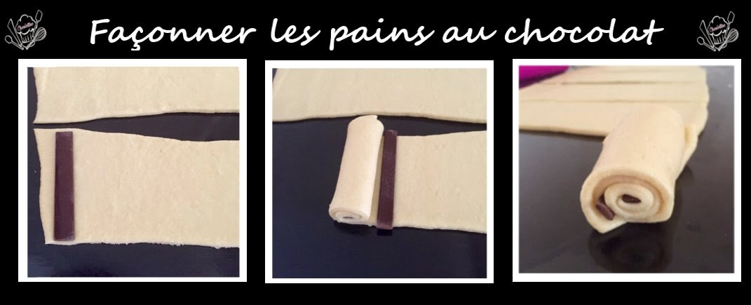 roulage pain au chocolat illusion