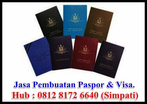 Jasa Pembuatan Paspor dan Visa