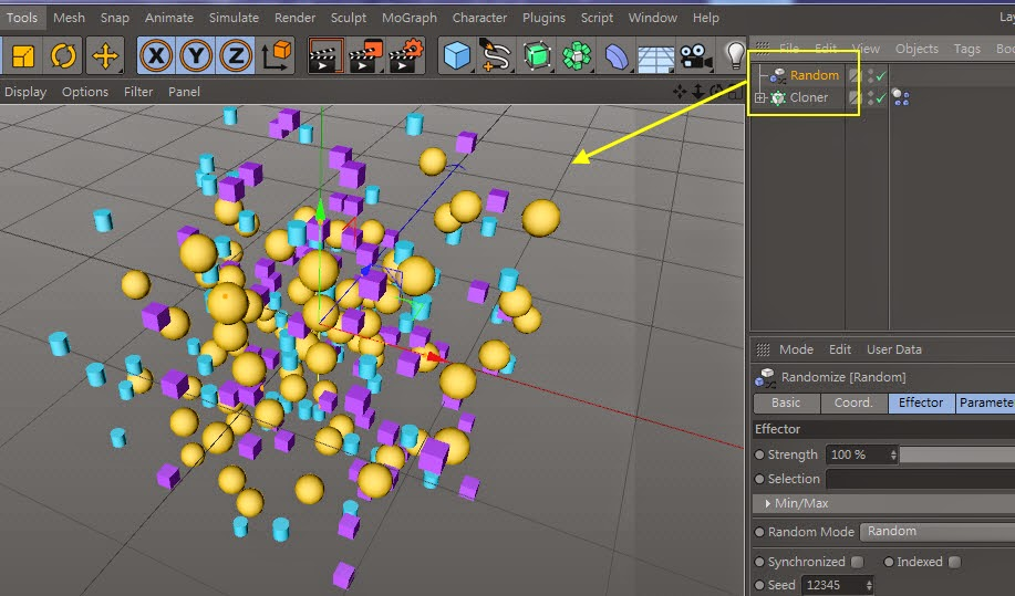 The_Cluster_Effect in C4D 11