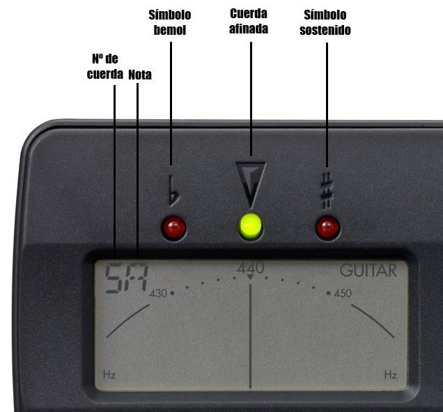 Afinador-electrónico