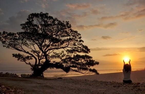 Sunset Pantai Pok Tunggal Gunung Kidul