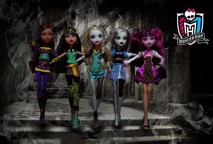 Monster High Tapety Na Pulpit 10painel