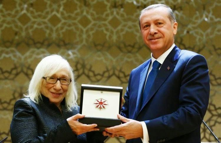 Cumhurbaşkanlığı Kültür ve Sanat Büyük Ödülleri Töreninde Alev Alatlı'nın Yaptığı Konuşma