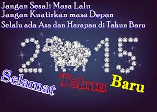 Kata Kata Ucapan Tahun Baru 2015