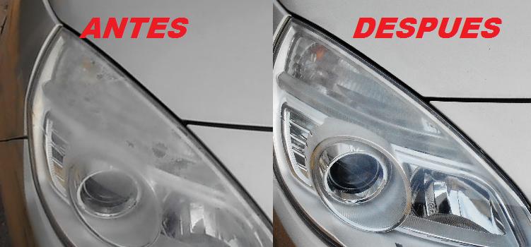 Los trucos de julieta como limpiar los faros del coche opacos - Como pulir faros de coche ...