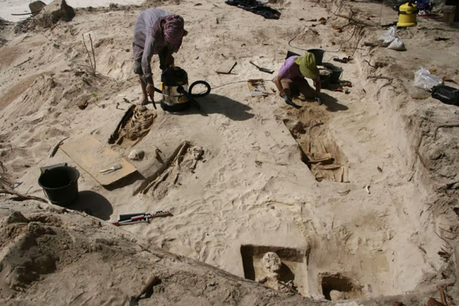 Colonial-era slave cemetery revealed in the Lesser Antilles