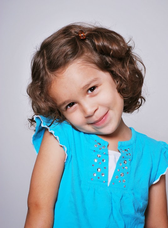 headshot of a child actress in dc with great acting skills