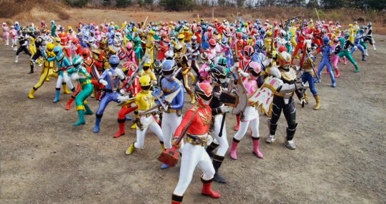 Phim Super Sentai 199 Hero Great Battle