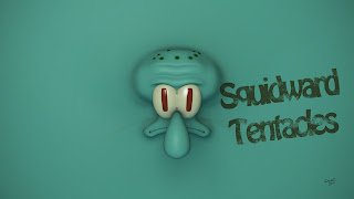Squidward Tentacles HD Wallpaper