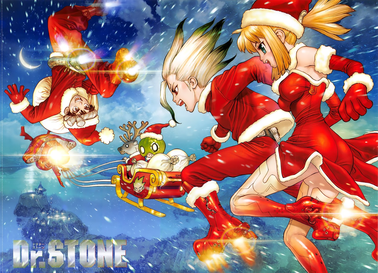Dr. Stone Chapter 39-0